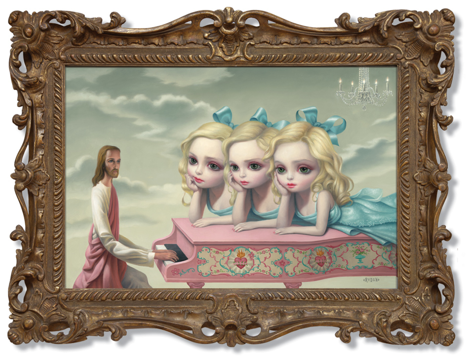 Mark Ryden (Jesus) piano_man