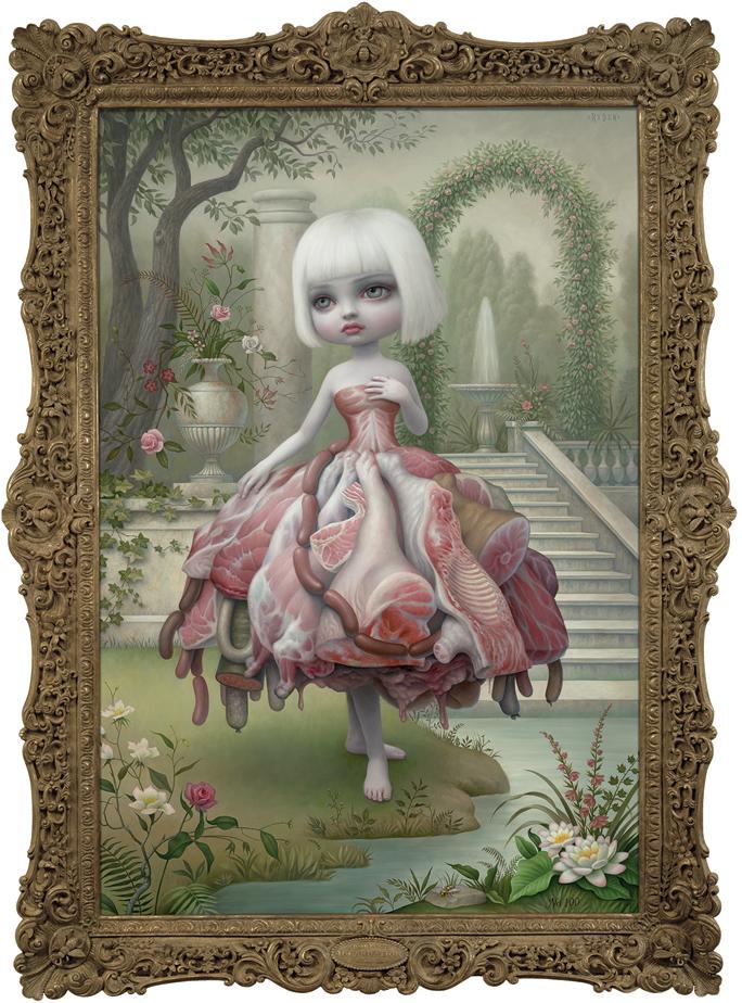 Mark Ryden (meat dress) incarnation