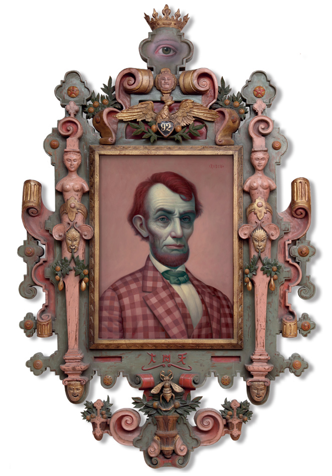 Mark Ryden pink_lincoln