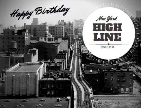Buon Compleanno High Line