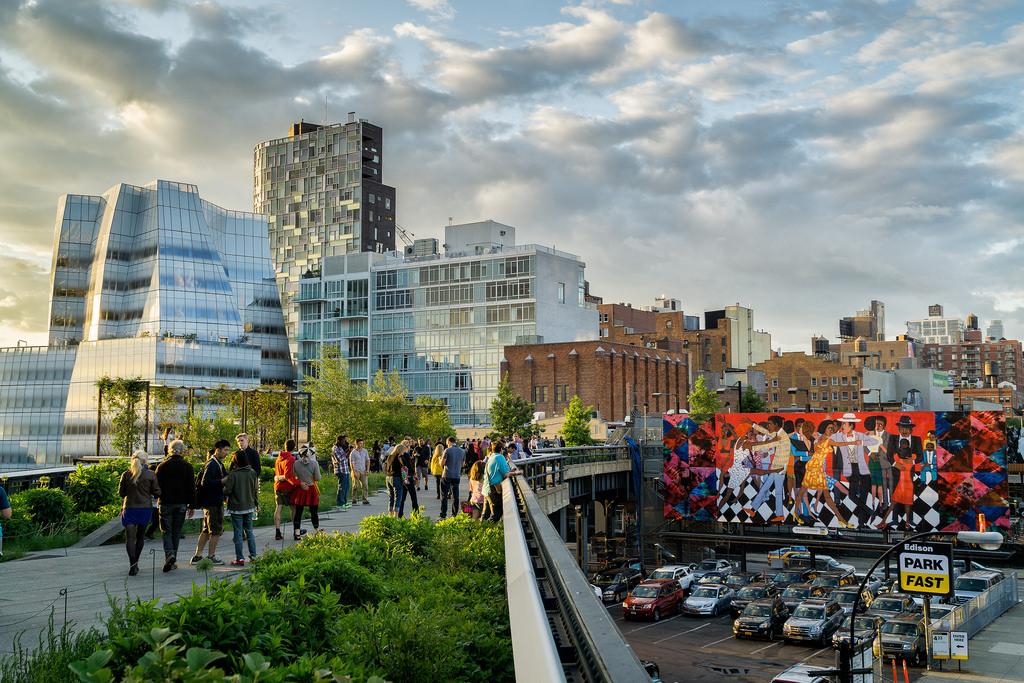 La passeggiata dell'High Line