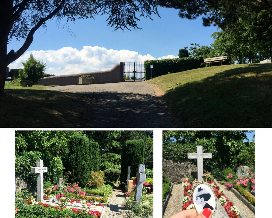 Audrey Hepburn cemetery and grave