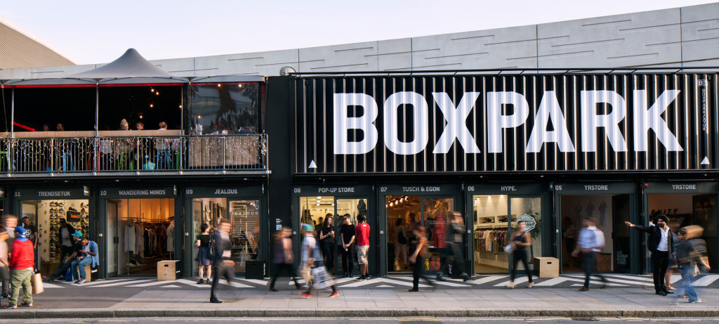 Box Park Shoredicth
