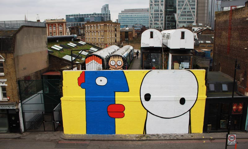 Thierry-Noir-and-Stik-VU-Wall-2013